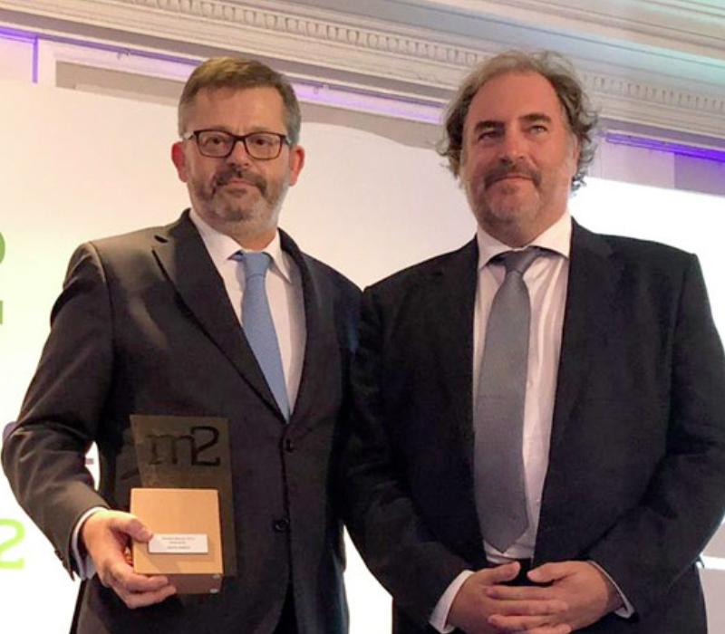 Premio a la Innovación a Grupo Avintia el en la segunda edición de los Premios Merca2