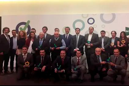 """Grupo Avintia, la entidad más galardonada en los """"Premios Prevencionar"""" recibiendo dos galardones gracias a la campaña """"Cero Daños"""""""